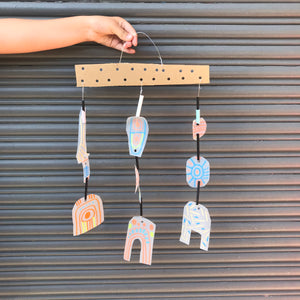 THurs 9th Jan - 9.00-10.15am - Upcycle Mobiles  - 5-6yrs