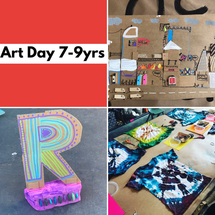WEd 11th Dec - 10.45-3.30pm  - Art Day - 7-9yrs