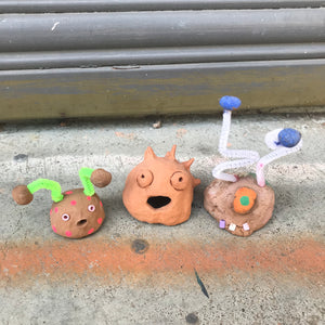 Thurs 9th July -  9am-10.15am.  All Ages 5+ 3D CLAY SCULPTURE - rawart.com.au