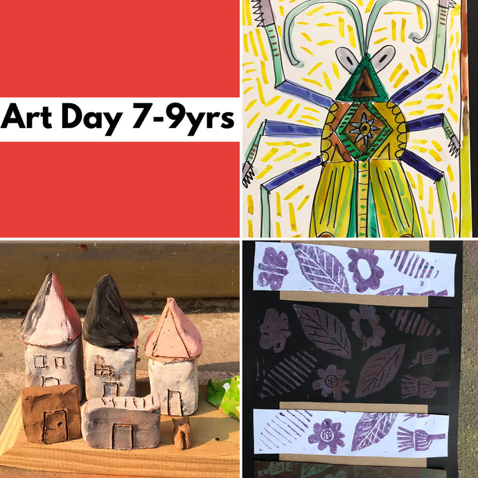 WEd 18th Dec - 10.45-3.30pm  - Art Day - 7-9yrs