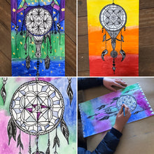 Load image into Gallery viewer, The '2D Dream Catcher Design' Kit (7yrs +) - rawart.com.au