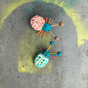 THurs 2nd Jan - 9.00-10.15am - Colourful Clay Beetles  - 5-6yrs