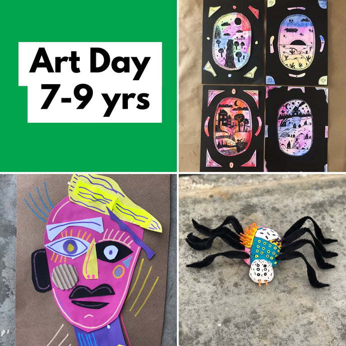 Thurs 9th July - 9.30-2.15pm  - Art Day - 7-9yrs - rawart.com.au