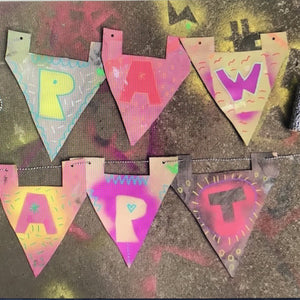 Wed 22nd Jan - 9.00-10.15am - Name Bunting Fun  - All Ages 5yrs +