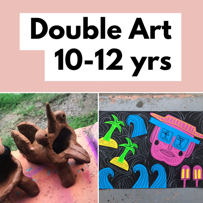 Thurs 16th Jan - 12.30-3.30  - Double Art - 10-12yrs
