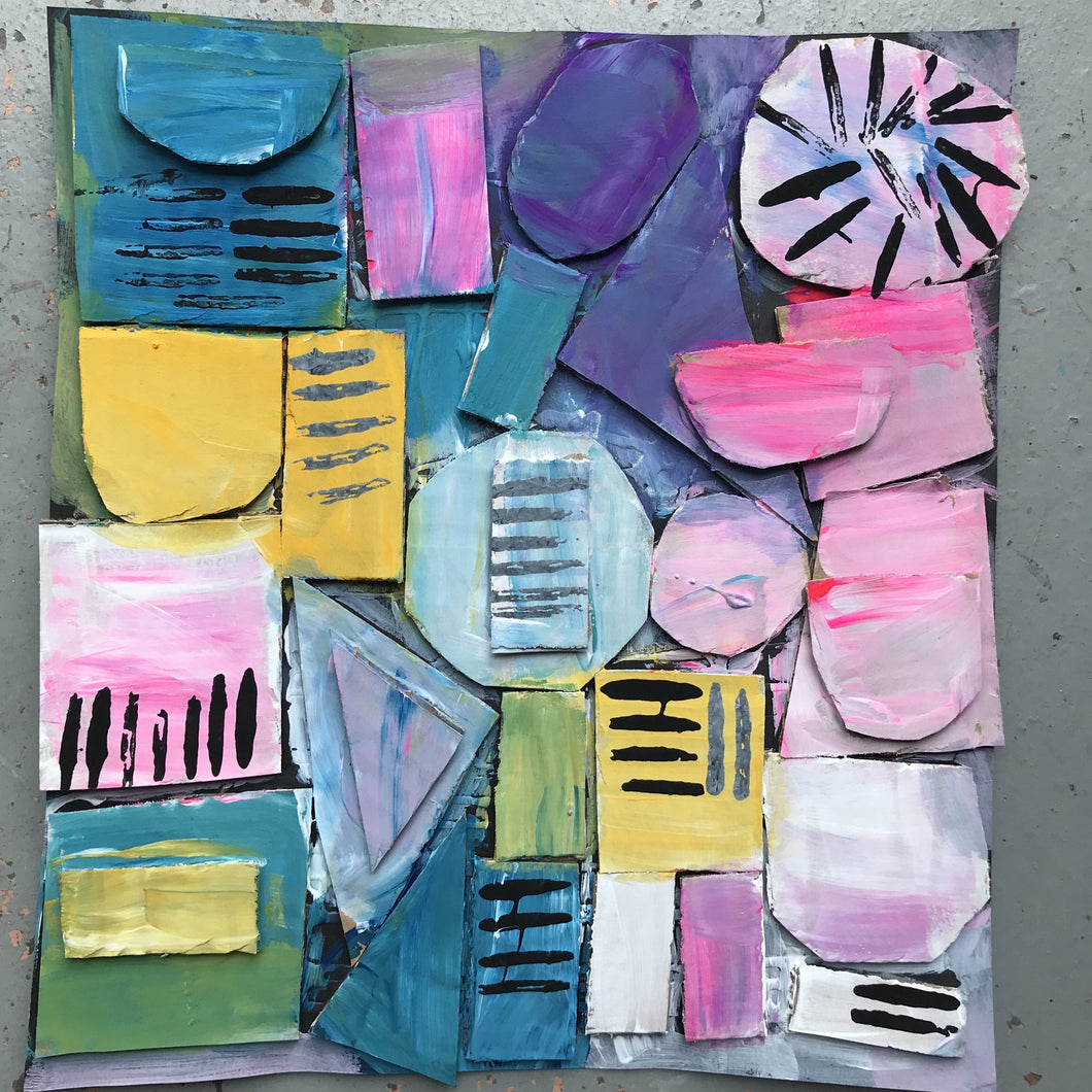Thurs 2nd Jan - 9.00-10.00am - Abstract Colour Blocks  - 3-4yrs - rawart.com.au