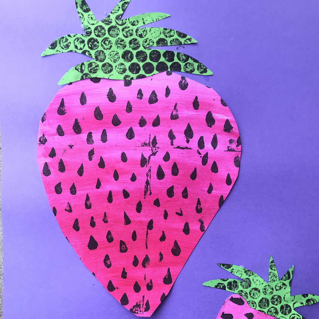 Thurs 9th Jan - 9.00-10.15am - Sweet and Sour Prints  - 5-6yrs