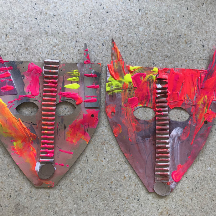 Thurs 2nd July - 9.00-10.00am - Have fun with Masks!   - 3-4yrs - rawart.com.au