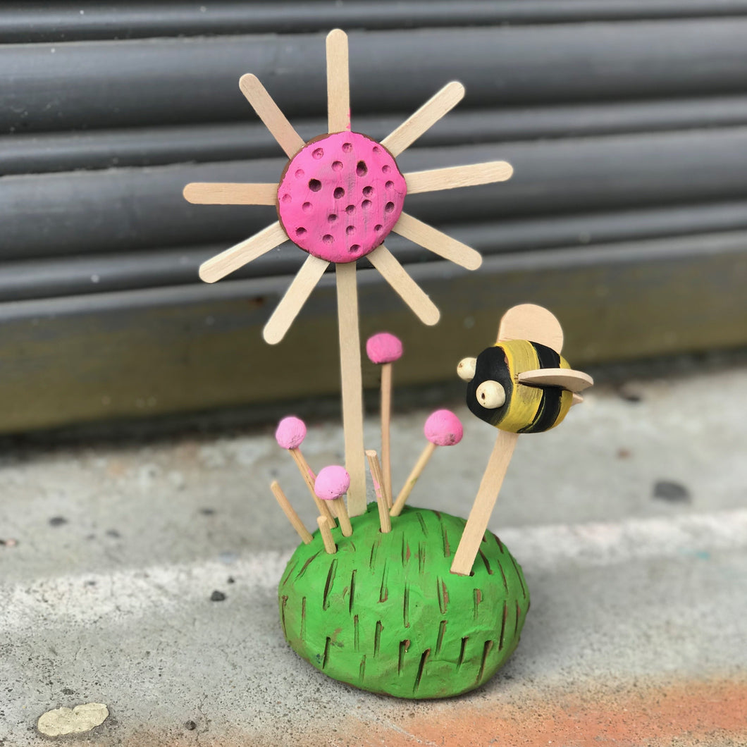 The 'Little Buzzy Garden' Kit (4yrs +) - rawart.com.au