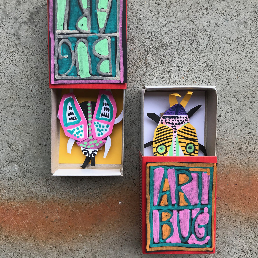 The 'Matchbox Bugs' Kit (7yrs +) - rawart.com.au