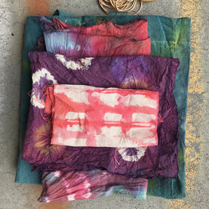 Wed 8th April -  9am-10.15am.  All Ages 5+ Tie Dye - rawart.com.au