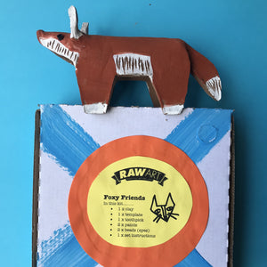 Foxy Friends - rawart.com.au