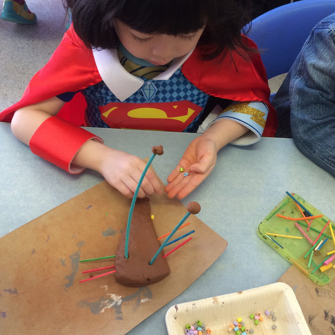 Wed 8th July - 9.00-10.00am - Have fun with Clay!   - 3-4yrs - rawart.com.au