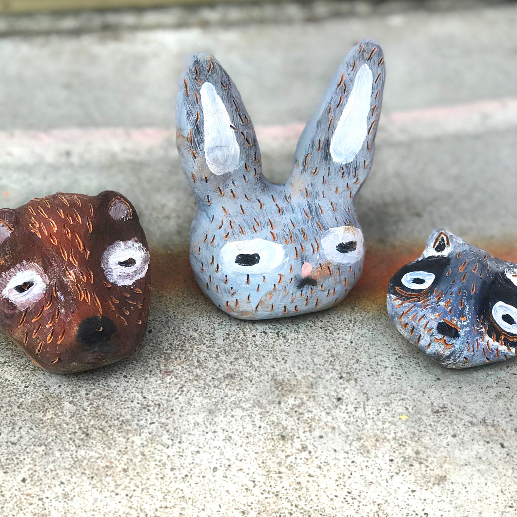 CLAY ANIMAL HEADS DIY KIT - Year 5/6 - rawart.com.au