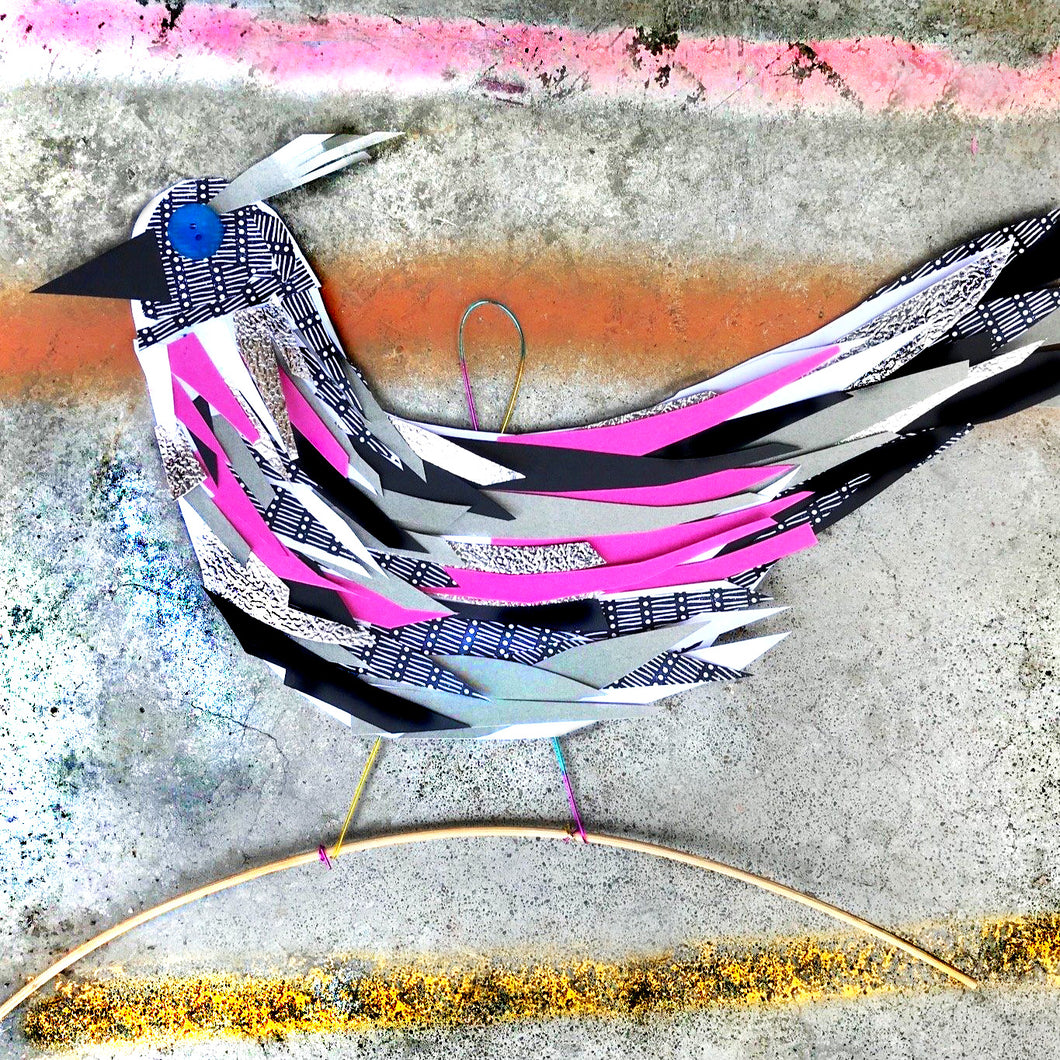 FUNKY BIRD COLLAGES DIY KIT - Year 3/4 - rawart.com.au
