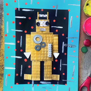 The RAD ROBOT PRINTS Kit - Prep/Kindy - rawart.com.au
