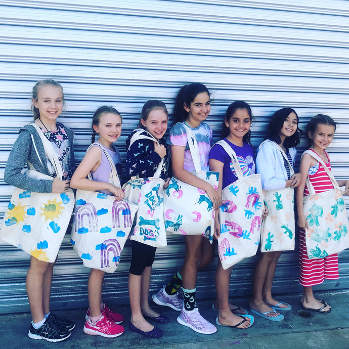 Thurs 9th July: 12.30-3.30. Age 10-12yrs. PRINT and SEW - rawart.com.au