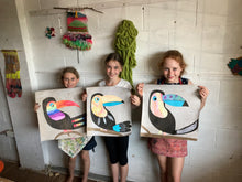 Load image into Gallery viewer, The 'Terrific Toucan Art' Kit (7yrs +) - rawart.com.au