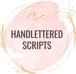 Handlettered Scripts