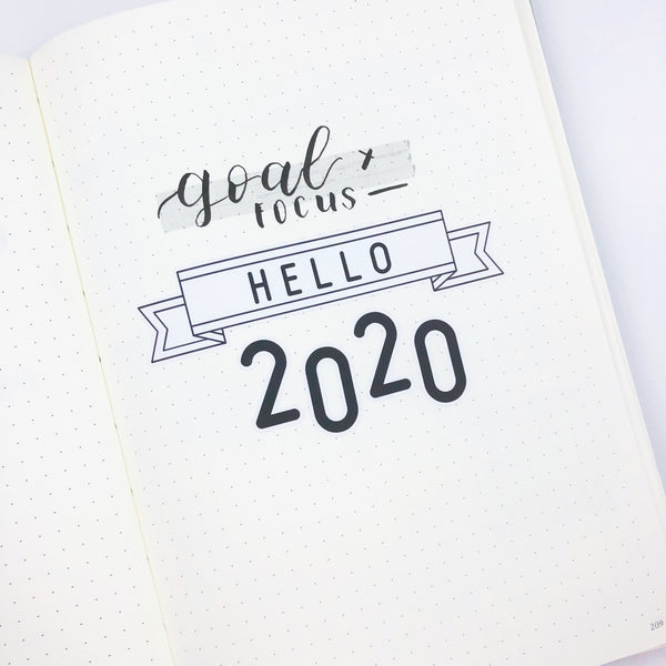 Hello 2020 Set Up - Ambitious Mimi