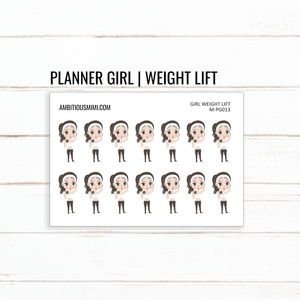 Planner Girl | Weight Lift - Ambitious Mimi