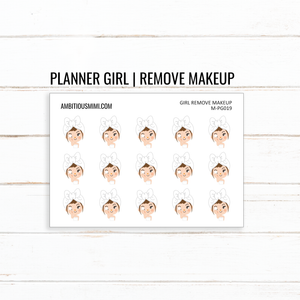 Planner Girl | Remove Makeup - Ambitious Mimi