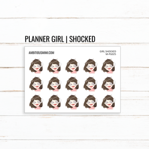 Planner Girl | Shocked - Ambitious Mimi