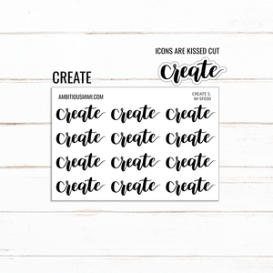 Handlettered Scripts | Create - Ambitious Mimi