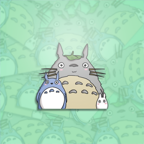 Totoro Mini-Sticker