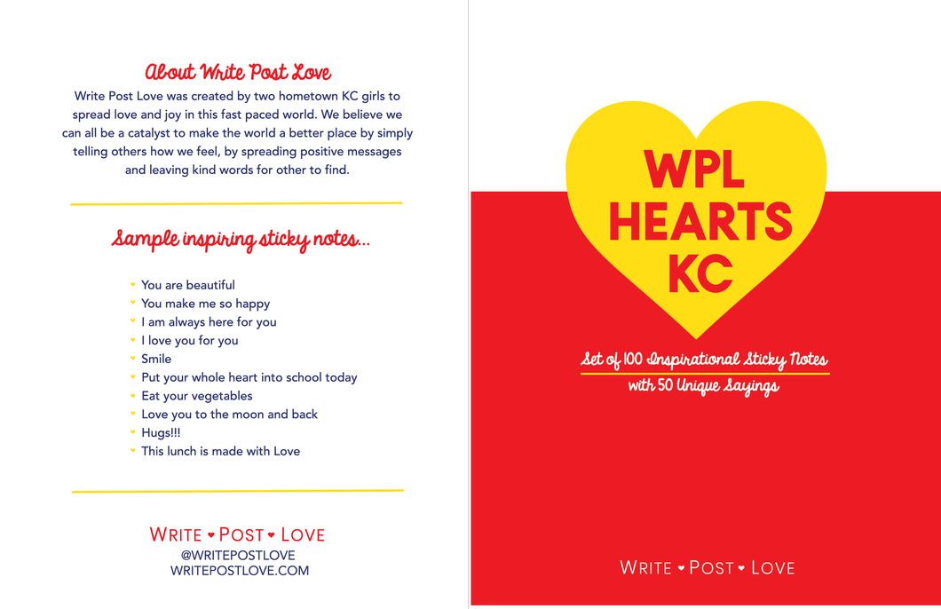 WPL Hearts KC - Write Post Love