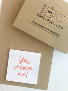 Sticky Notes Kraft - 1 pack - Write Post Love