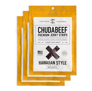 Hawaiian Style Premium Beef Jerky | High in Protein
