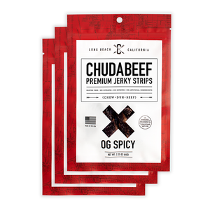 OG Spicy - Chudabeef Jerky Co. | Premium Beef Jerky