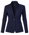 Casual Fit Office Blazer