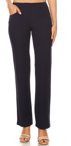 Relaxed Fit Office Pants