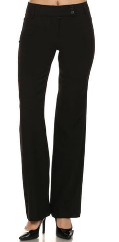 Women's Wide-Leg Office Pants