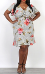 Relaxed-fit Floral Dress