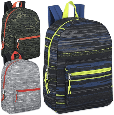 Kids Pattern Backpacks