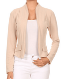 Relaxed Fit Office Jacket