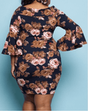 Off the Shoulder Mini Body-con Dress
