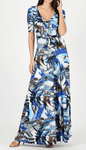 Relaxed Fit Print Maxi Dress