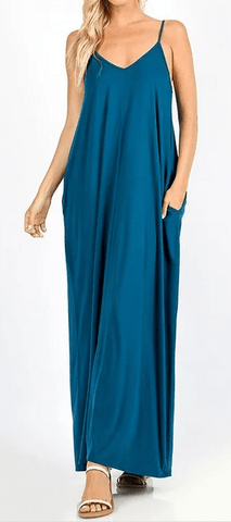Summer-time Cami Maxi Dress