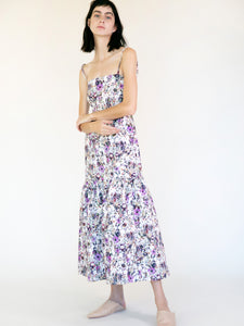 GAVIN PRINTED FLORAL DRESS- sold out