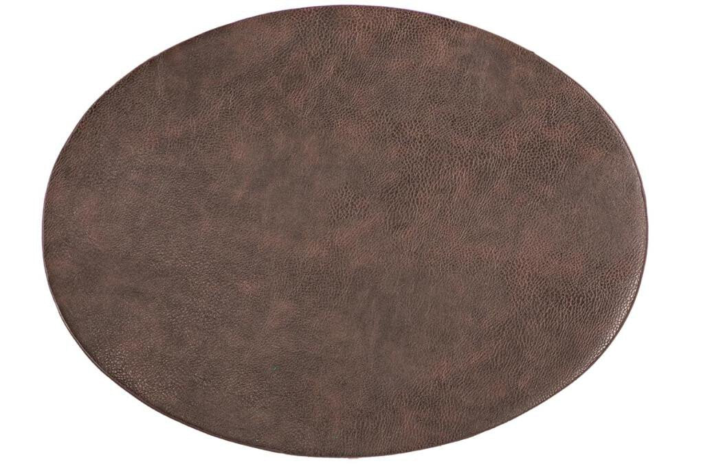 Placemat Tiseco Troja ovaal 33 x 45 cm brown