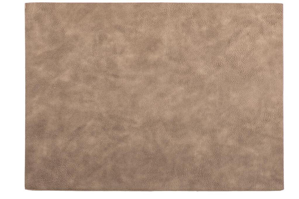 Placemat Tiseco Troja 33 x 45 cm taupe