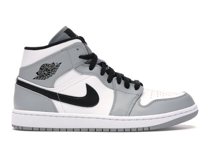 Jordan 1 Mid Light Smoke Grey - sneakergott.de