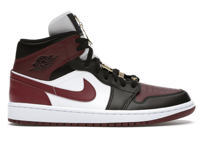 Jordan 1 Mid SE Black Dark Beetroot - sneakergott.de