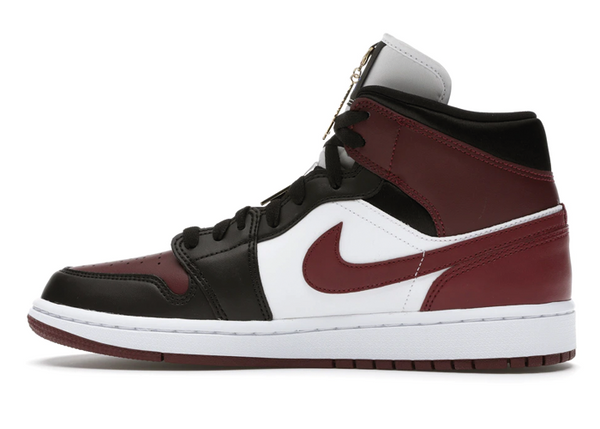 Jordan 1 Mid SE Black Dark Beetroot - Sneakergott