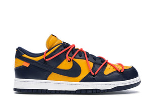 Nike Dunk Low Off-White University Gold Midnight Navy - sneakergott.de