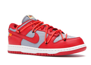Nike Dunk Low Off-White University Red - sneakergott.de